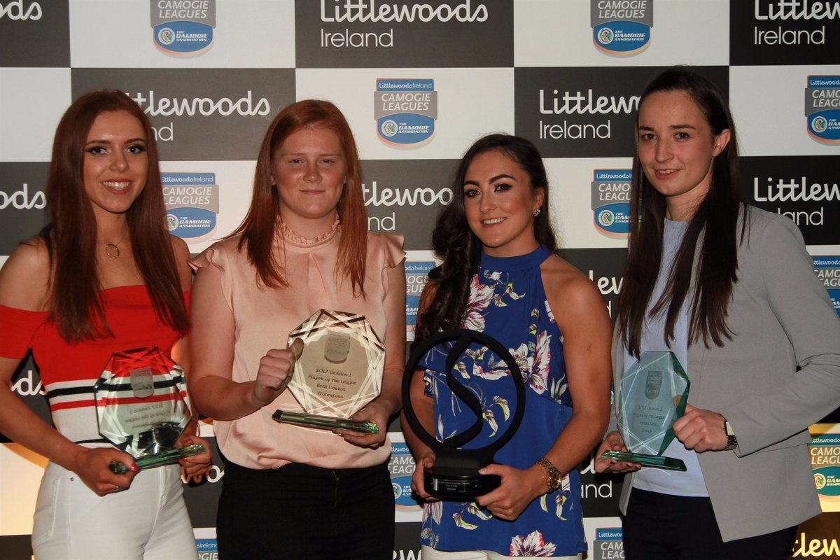 Amy O'Connor wins Littlewoods Ireland Style of Play Award 2017