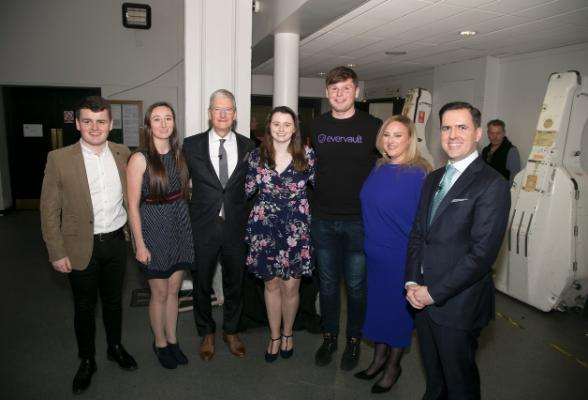 Quercus Scholars Meet Apple's Tim Cook at IDA Celebration of Apple in Ireland