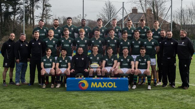 Cian and Paul on Ireland University Rugby Team