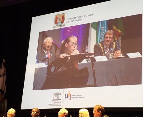 Joanne O'Riordan speaks at International Conference on Learning Cities