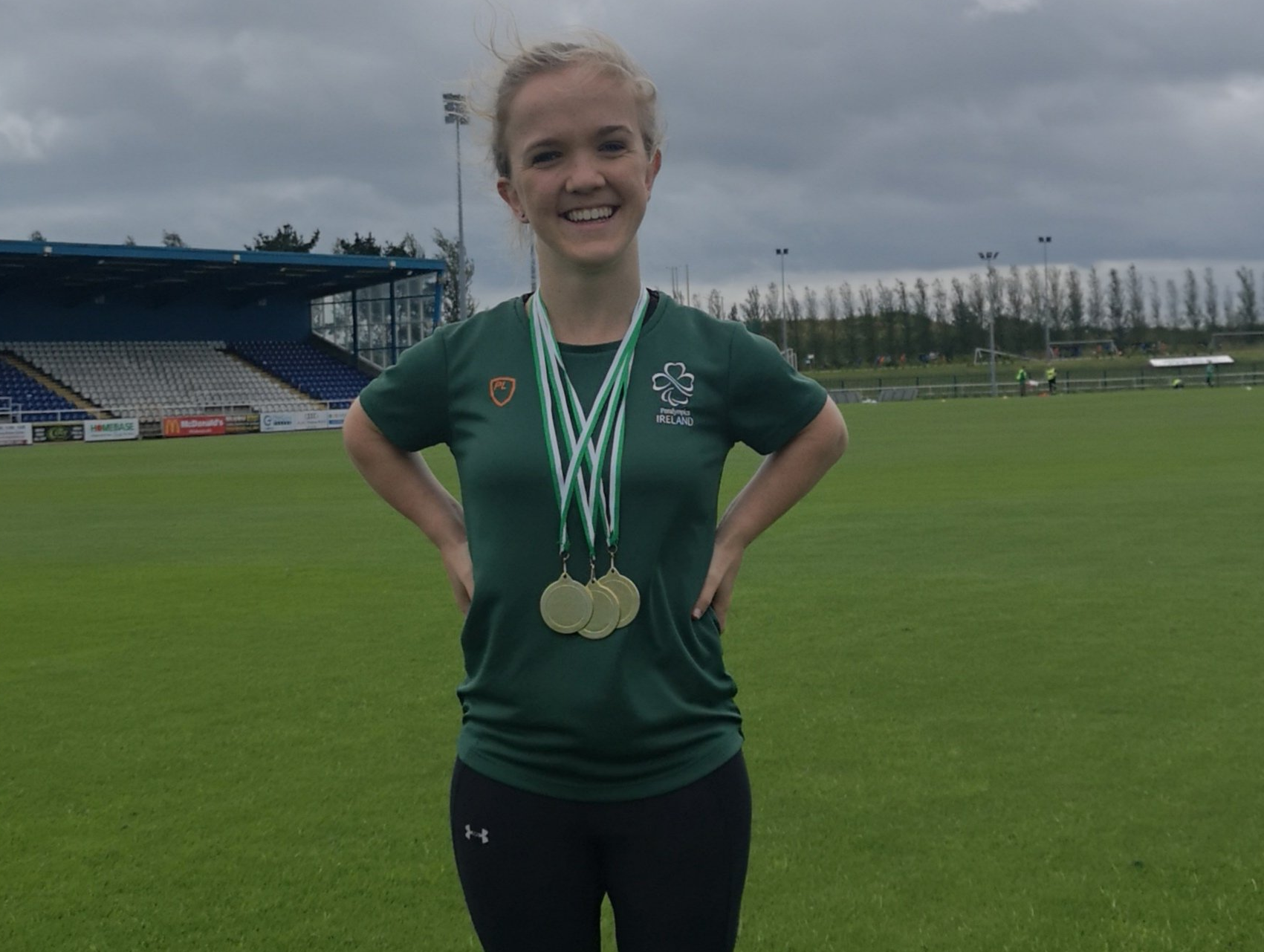 Mary Fitzgerald wins gold and breaks records