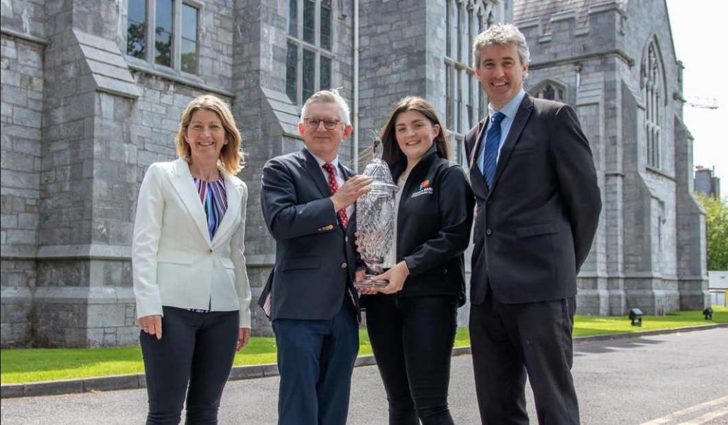 Mary Murphy wins UCC Student Entrepreneur of the Year