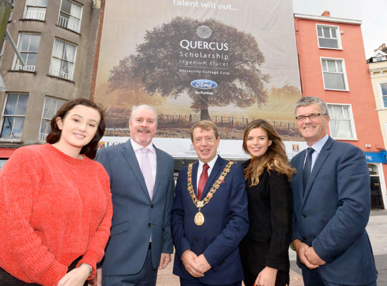Quercus Banner flies high over Cork City