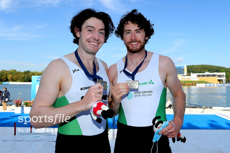 Ronan wins bronze at 2020 Senior European Rowing Championships