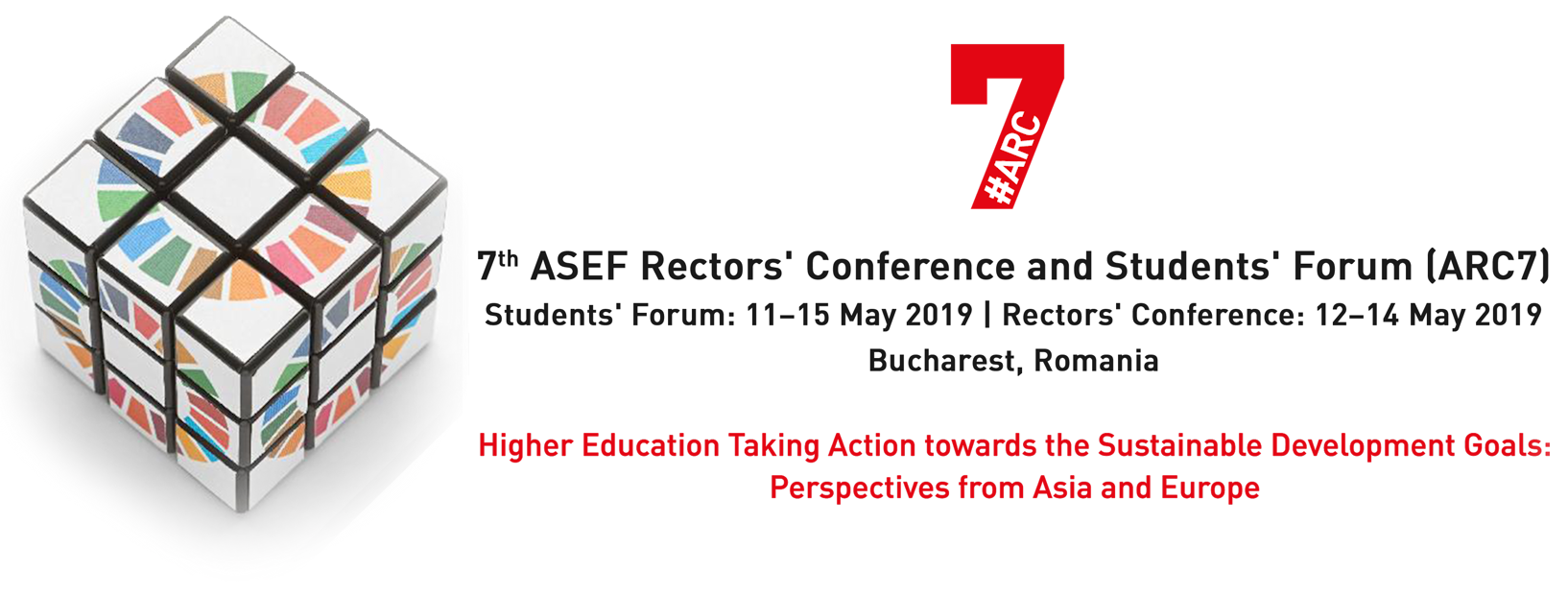 7th ASEF Rectors' Conference and Students' Forum (ARC7)