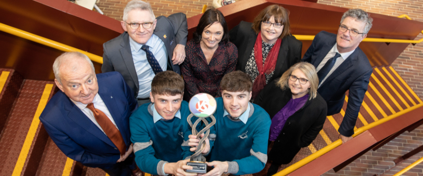 UCC welcomes BTYSE Winners Cormac Harris and Alan O'Sullivan