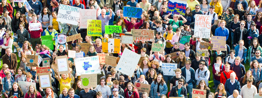 UCC students and staff join millions around the world in Global Climate Strike