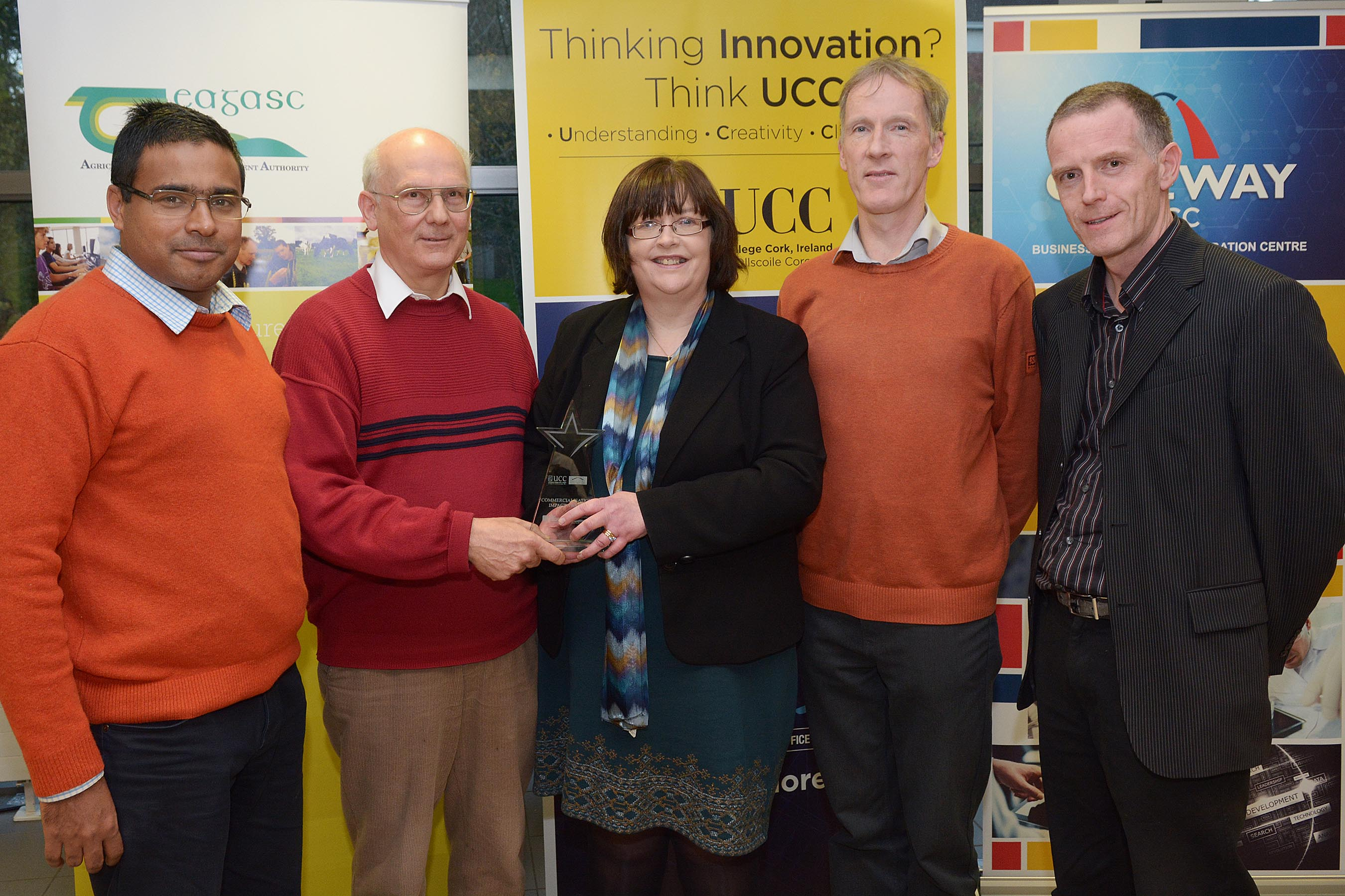UCC awards its first Commercialization Impact Award to the team behind Oculus Ireland technology