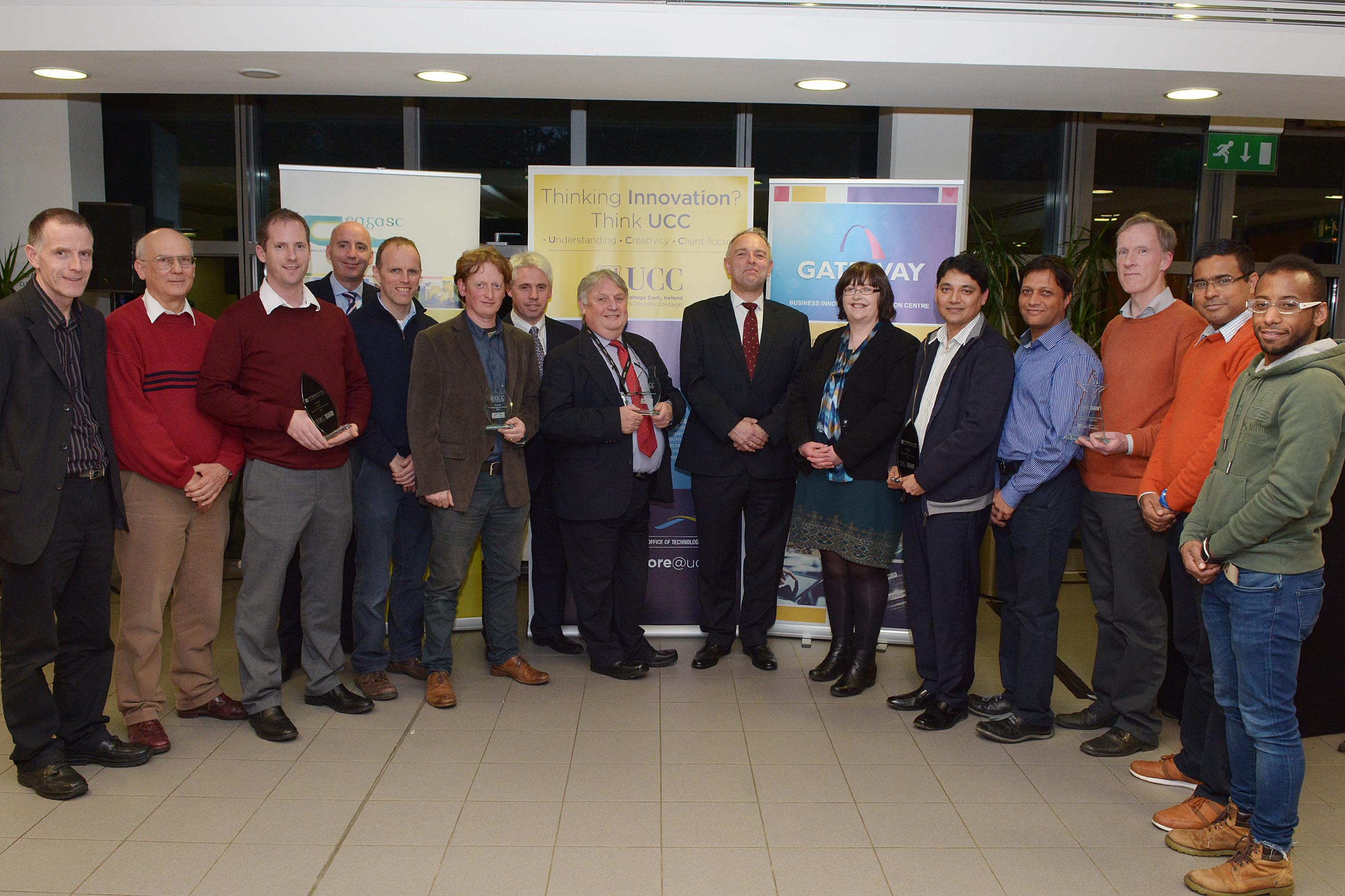 UCC led Technology Transfer consortium present its annual Invention of the Year Awards