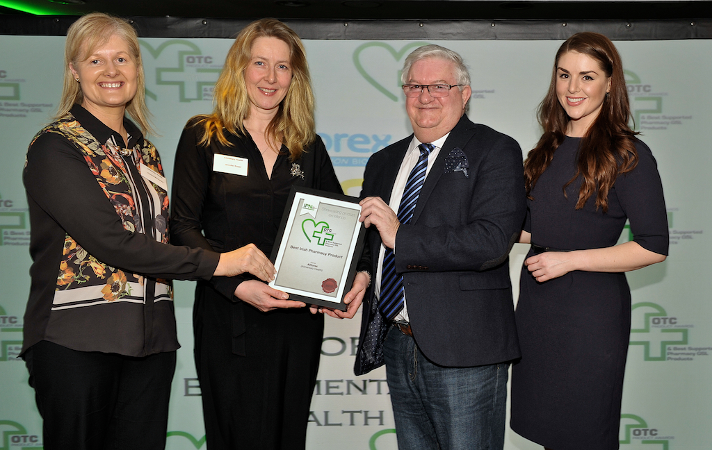 Alimentary Health Ltd Win Best Irish Pharmacy Product