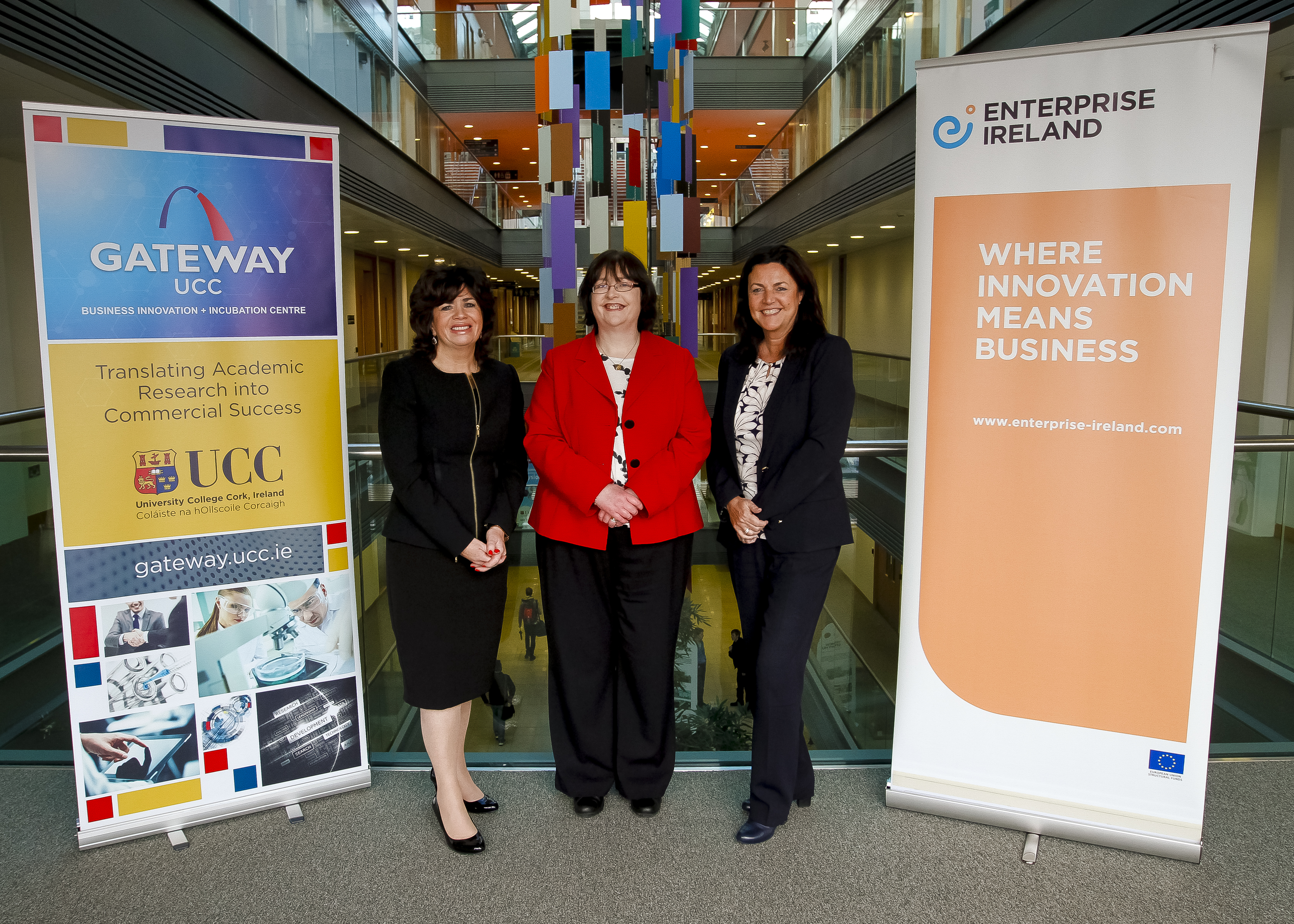 GATEWAY UCC Hosts EI International Competitive Start Funding Pitching Event