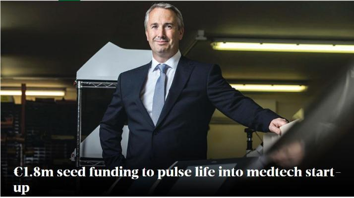 €1.8m seed funding to pulse life into medtech start-up