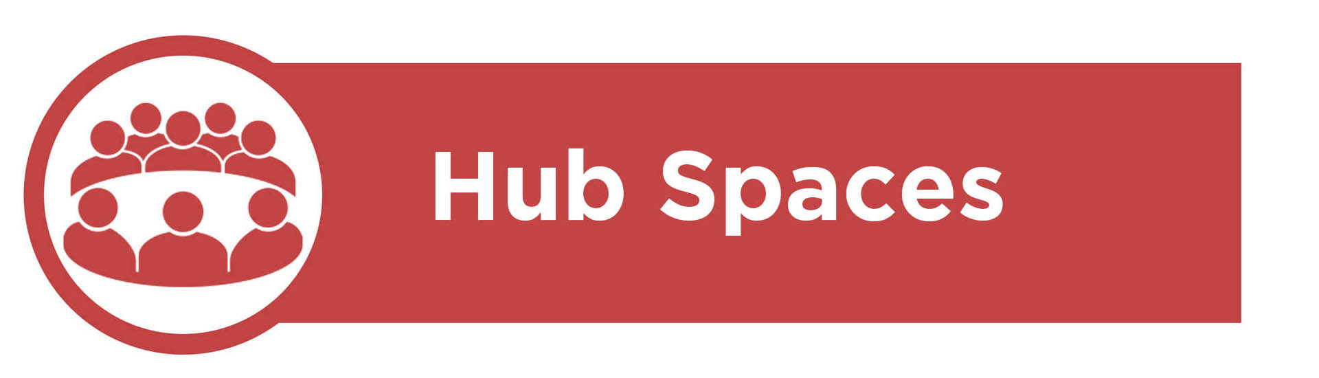Banner image containing the text 'Hub Spaces'