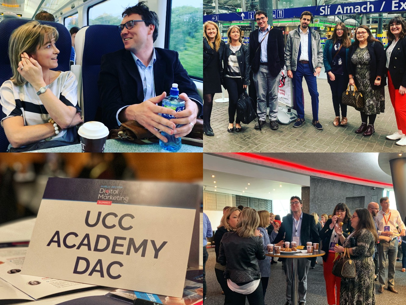 UCC Academy attended a conference on digital marketing for the public sector