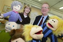 Science Puppets visit UCC!