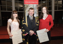 University College Cork (UCC)  continues to attract excellent students nationwide