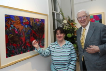 NUI Chancellor launches Jennings Gallery at UCC