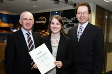Eirgrid Prize presented to UCC Student