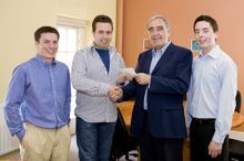 UCC Economics students presented with awards