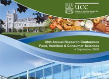 UCC hosts Annual Research Conference on Food, Nutrition and Consumer Sciences