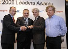 UCC Computer Science Academic presented with IT@Cork Leaders Award