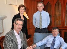 Chair, International Advisory Board of Irish-African Partnership for Research and Capacity Building visits UCC
