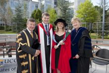 Conferring Ceremonies at University College Cork – September 10th 2010