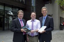 UCC Academics donate new books to Boole Library