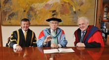Honorary Doctorate awarded to Nobel Laureate