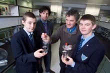 Prototype milk testing device unveiled by BT Young Scientists