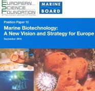 ERI Director Contributes to European Science Foundation Marine Biotechnology Strategy