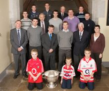 Sam Maguire welcomed to UCC!