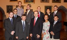 George J. Mitchell Scholars welcomed to UCC