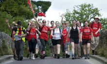 Walkers hope to raise €100,000 for cancer research