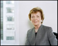 Mary Robinson to deliver lecture at UCC on Climate Justice