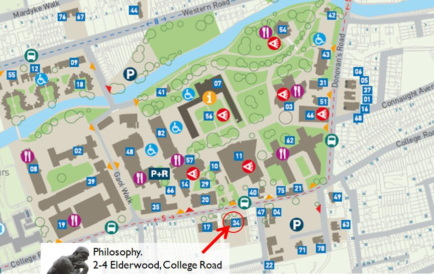 Map of Philosophy Department