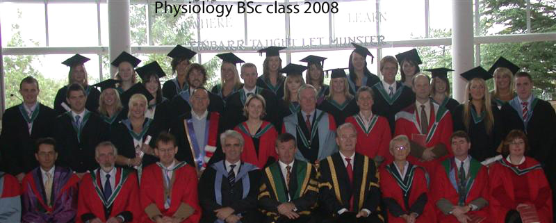 Physiology BSc class 2008
